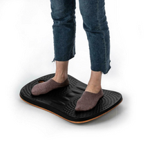 Load image into Gallery viewer, Large Anti Fatigue Standing Desk Wobble Balance Board