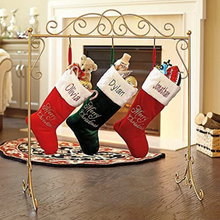 Load image into Gallery viewer, Free Standing Christmas Stocking Holder Stand