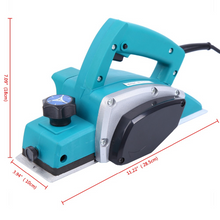 Load image into Gallery viewer, Heavy Duty Handheld Electric Wood Planer