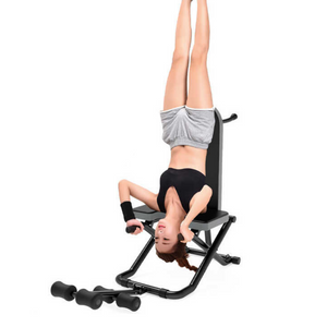 Deluxe Back Pain Inversion Therapy Table