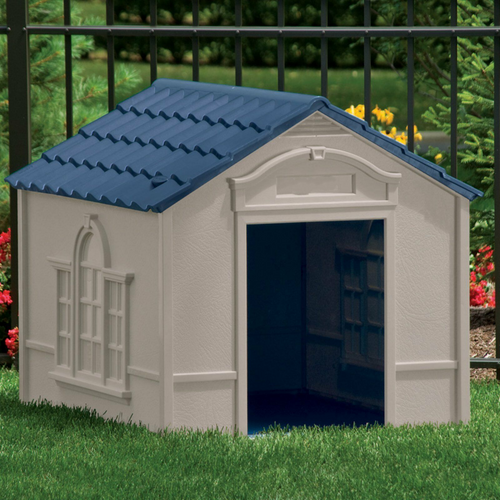 Large Heated Outdoor Dog House Kennel