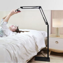 Load image into Gallery viewer, Portable Adjusting iPad/Tablet Holder Floor Stand