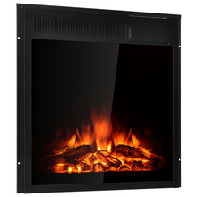 Load image into Gallery viewer, Premium Recessed Electric Fireplace Heater Insert 22.5""