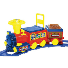 Load image into Gallery viewer, Kids Battery Powered Ride On Toy Train With Track