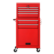 Load image into Gallery viewer, Large Rolling Snap On Tool Chest Box With Drawers