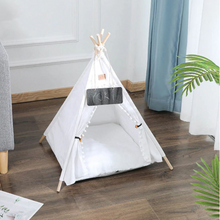 Load image into Gallery viewer, Portable Pop Up Dog / Cat Teepee Bed Tent