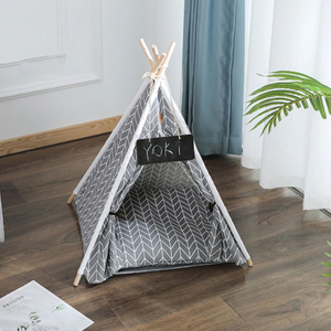 Portable Pop Up Dog / Cat Teepee Bed Tent