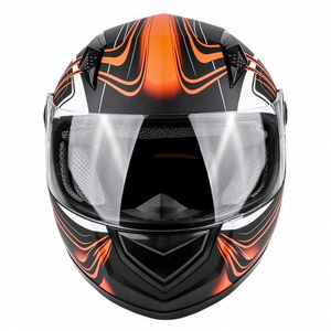 Full Face Heated Adult Snowmobile Helmet