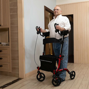 Smart Standing Upright Senior Straight Walker