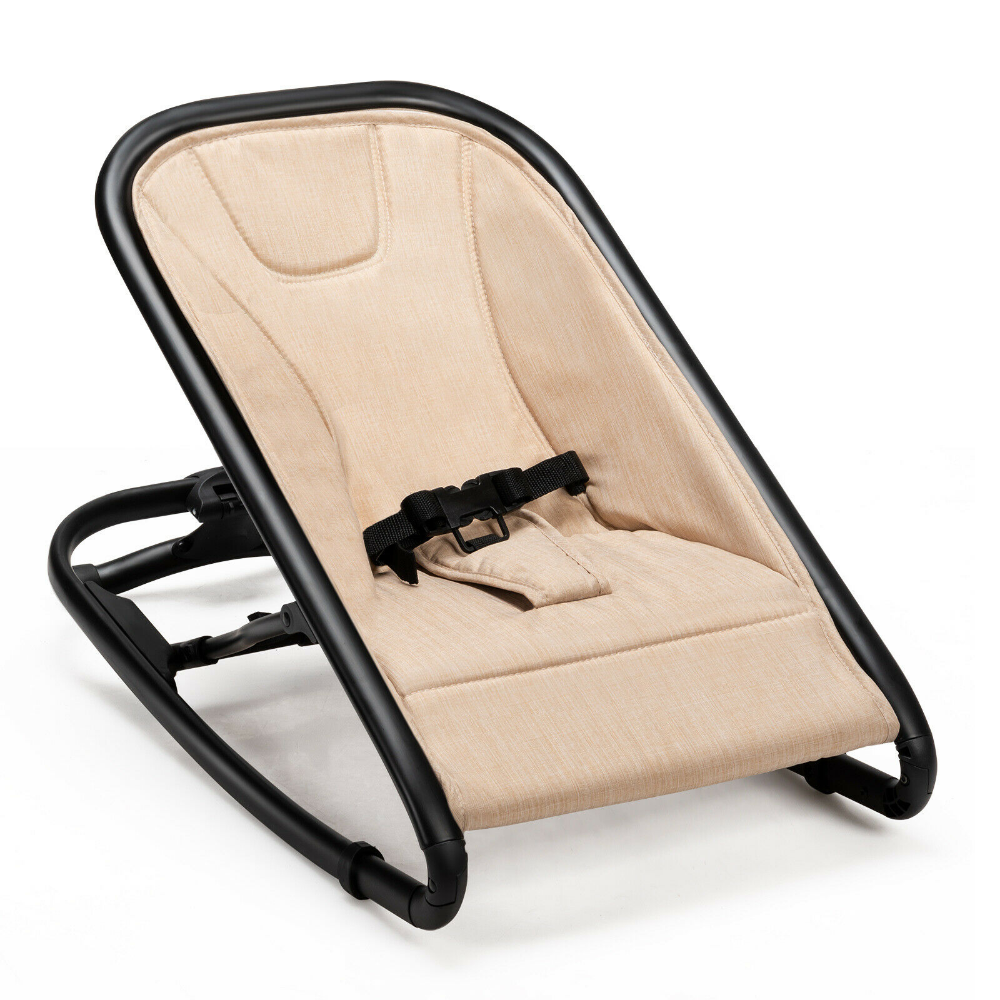 Adjustable 2-in-1 Baby Bouncer And Rocker Seat