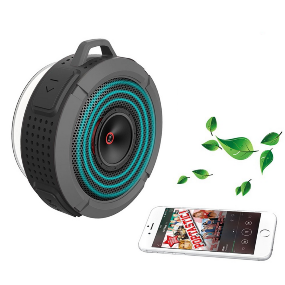Wireless Waterproof Bluetooth Shower Speaker Portable | Zincera