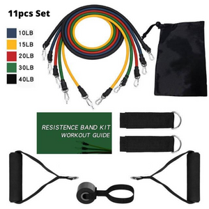 Resistance Exercise Workout Bands For Arms Stretch Set | Zincera