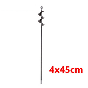 Post Hole Auger Drill Bit For Garden Planting | Zincera