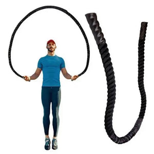 Premium Large Heavy Weighted Jumping Fitness Rope