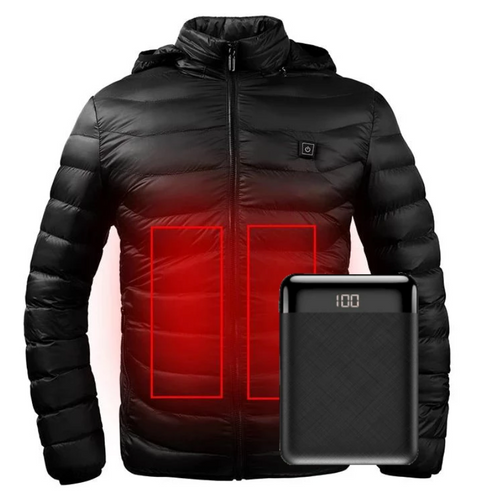 Snap On Heated Electric Jacket Battery Operated | Zincera