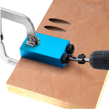 Load image into Gallery viewer, Pocket Hole Angle Drill Guide Jig | Zincera