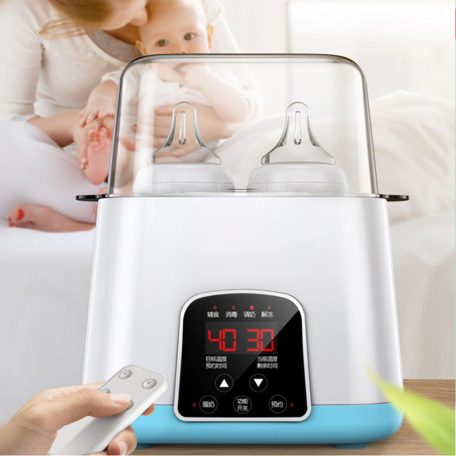 Premium Automatic Baby Bottle Sterilizer And Cleaner | Zincera
