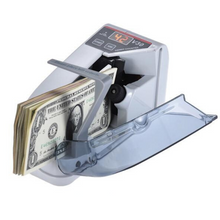 Load image into Gallery viewer, Portable Money Bill Counting Machine | Zincera