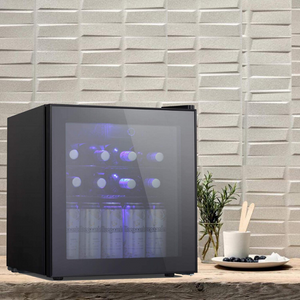 Small Countertop Wine And Beer Cooler Fridge | Zincera