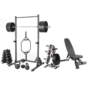 Heavy Duty Hexagon Deadlift Trap Shrug Bar | Zincera