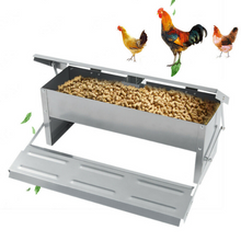 Load image into Gallery viewer, Premium Automatic PVC Chicken Feeder | Zincera