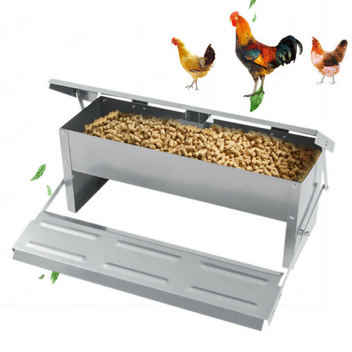 Premium Automatic PVC Chicken Feeder | Zincera