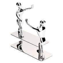 Load image into Gallery viewer, Premium Stainless Steel Modern Bookend | Zincera