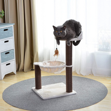 Load image into Gallery viewer, Natural Cat Scratching Lounger Furniture Post | Zincera