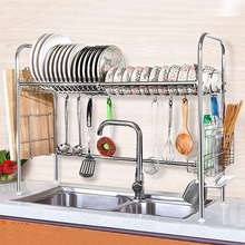 Load image into Gallery viewer, Premium Stainless Steel Over The Sink Dish Drying Rack | Zincera