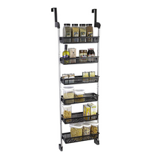 Load image into Gallery viewer, Large Over The Door Kitchen Pantry Spice Organizer Rack | Zincera