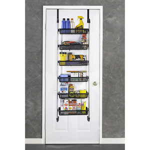 Large Over The Door Kitchen Pantry Spice Organizer Rack | Zincera