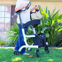 Load image into Gallery viewer, Heavy Duty Standing Upright Walker With Seat