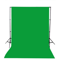 Load image into Gallery viewer, Portable Green Screen Backdrop 5ft x 10ft | Zincera