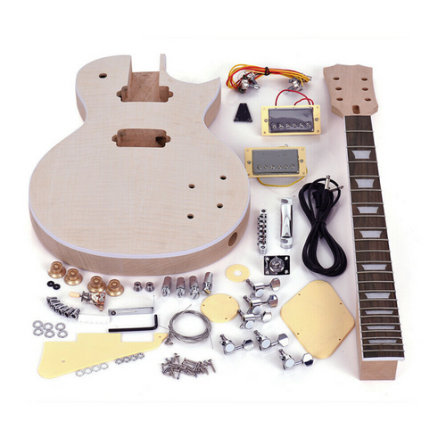 Electric DIY Guitar Building Kit LP Style | Zincera