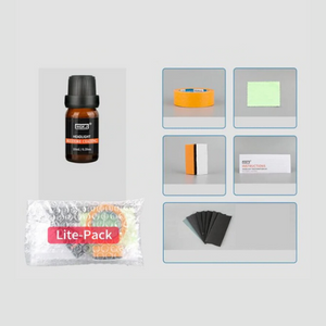 Premium Car Headlight Lens Restoration Cleaner Kit | Zincera