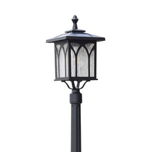 Load image into Gallery viewer, Premium Outdoor Solar Yard Light Lamp Post Fixture | Zincera