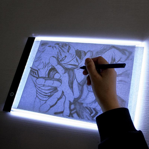 Premium Portable Drawing Digital Sketch Light Pad With Pen | Zincera