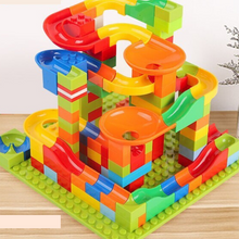 Load image into Gallery viewer, Marble Run Race Toy Track Set | Zincera