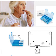 Load image into Gallery viewer, Smart Alarm Small Daily Pill Box Organizer | Zincera