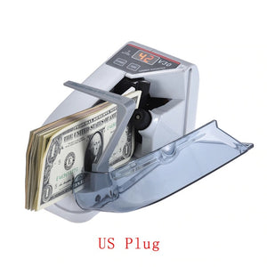 Portable Money Bill Counting Machine | Zincera