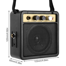 Load image into Gallery viewer, Portable Mini Guitar Amplifier For Acoustic & Electric | Zincera