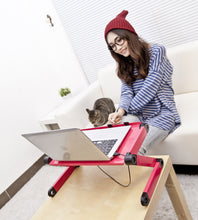 Load image into Gallery viewer, Adjustable Laptop Lap Desk Stand Tray | Zincera