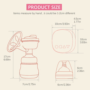 Hands Free Electric Breast Milk Pump Portable | Zincera
