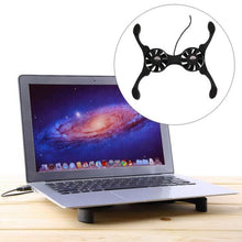 Load image into Gallery viewer, Laptop Cooling Fans Pad | Zincera
