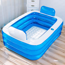 Load image into Gallery viewer, Portable Stand Alone Inflatable Bathtub For Adults | Zincera