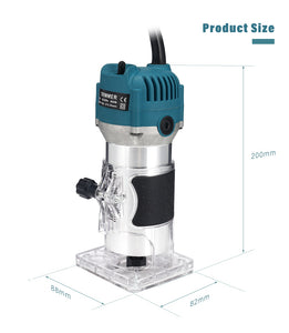Handheld Wood Router Trimmer Tool | Zincera
