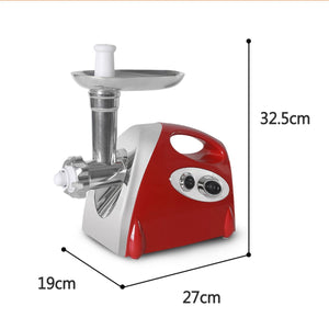 Premium Electric Meat and Sausage Grinder | Zincera