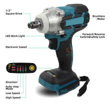 Load image into Gallery viewer, Electric Cordless Battery Impact Wrench | Zincera