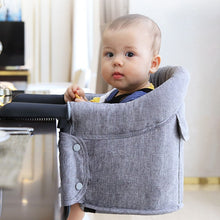 Load image into Gallery viewer, Portable Table High Chair Booster Eating Seat | Zincera