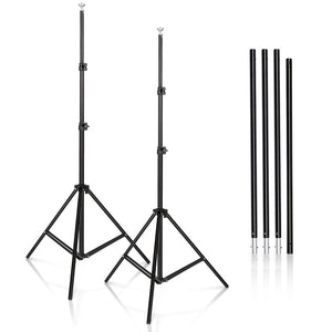 Heavy Duty Photo Backdrop Adjustable Stand Frame | Zincera